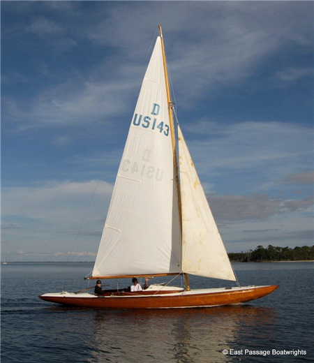 Professionally Restored Sail Wooden Boat Show